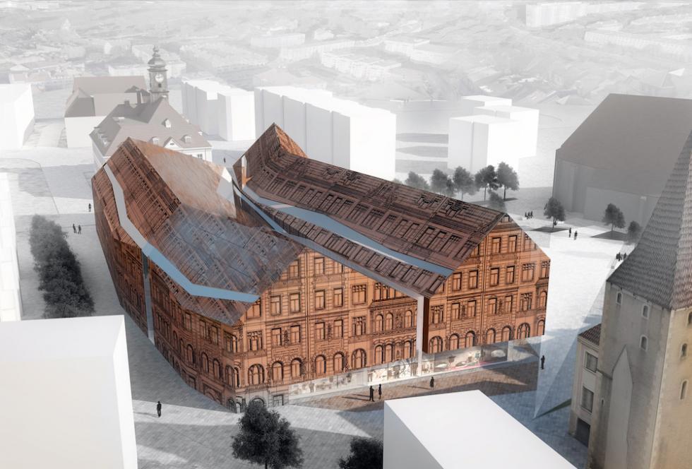Innowacyjny projekt galerii handlowej