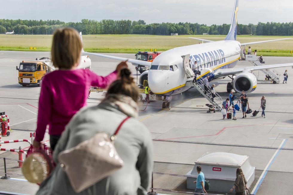 Na ferie zdziećmi samolotem zWrocławia