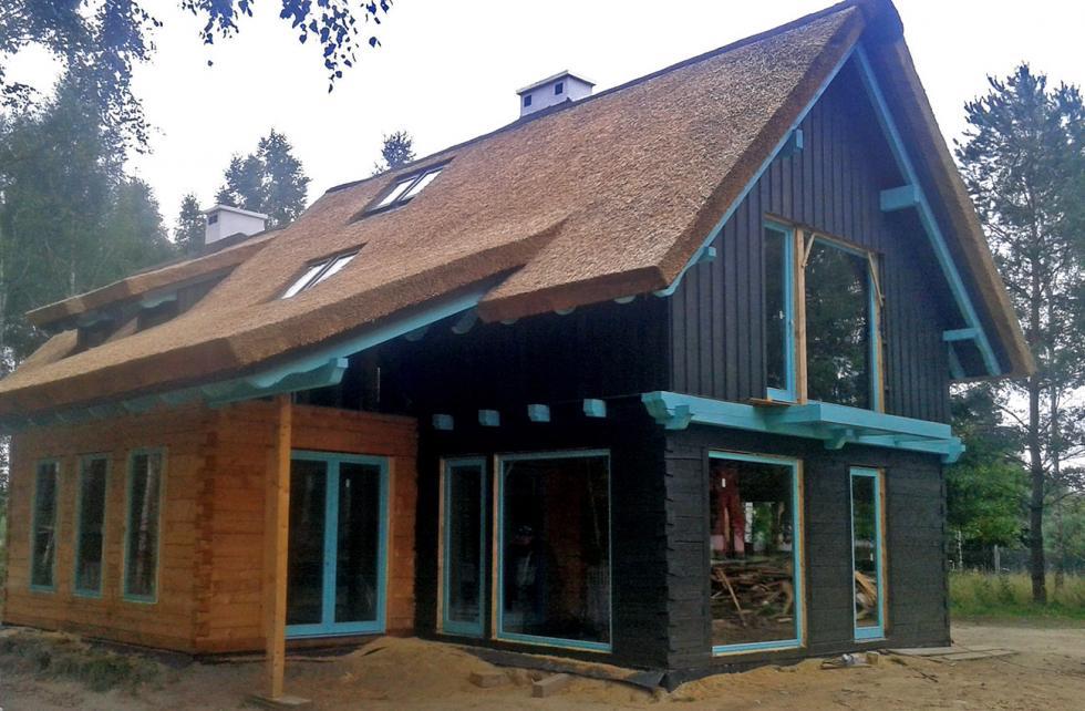 Domy wnowoczesnej formie
