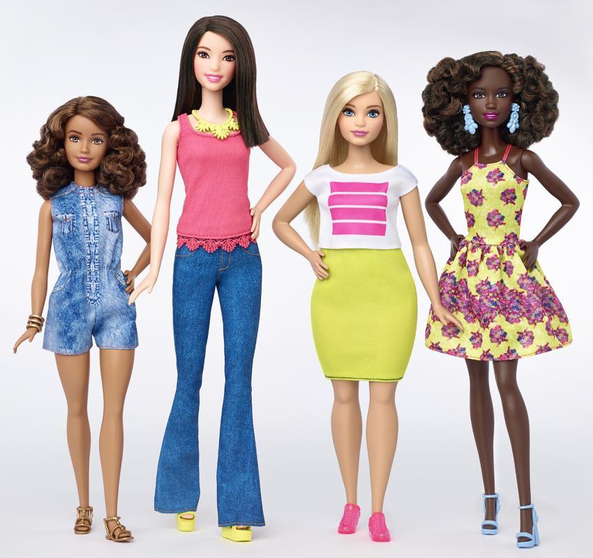 Oto nowe sylwetki lalek Barbie