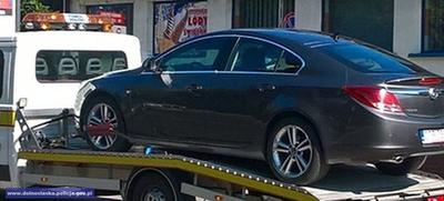 Nietrzeźwy kierowca zatrzymany po pościgu