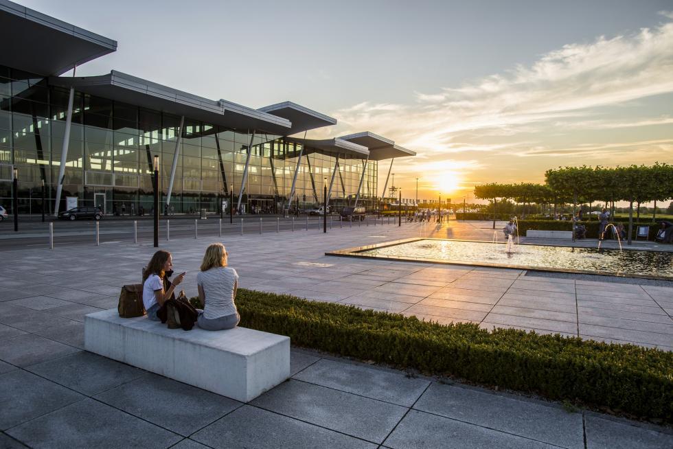 Najlepszy miesiąc whistorii wrocławskiego lotniska